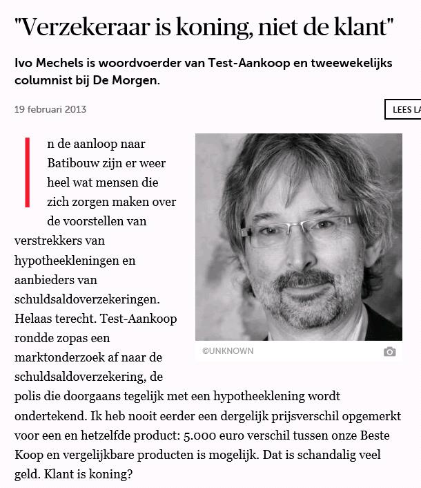 De morgen NL